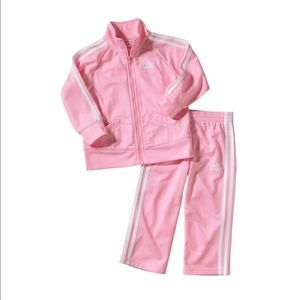 NWOT Soft Pink Adidas Outfit 6m